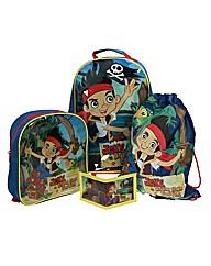 Jake & Neverland Pirates Luggage Set
