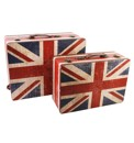 Home Living Luggage Set 2 Union Jack