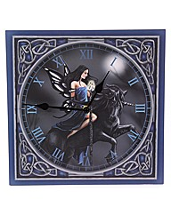 Fairy and Unicorn Picture Clock