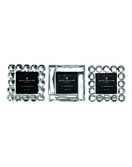 Radiance Set of 3 Mini Fancy Frames