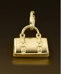 9ct Gold Handbag Charm
