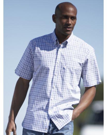 Rockport Short Sleeve Check Shirt