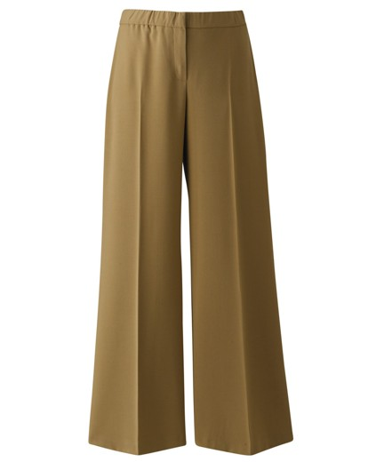 1940s Style Pants & Overalls- Wide Leg, High Waist Palazzo Trousers Long £9.75 AT vintagedancer.com