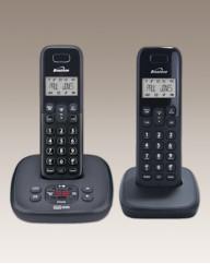 Twin Cordless Phone - Answering Machine