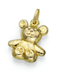 9ct Gold Teddy Bear Charm