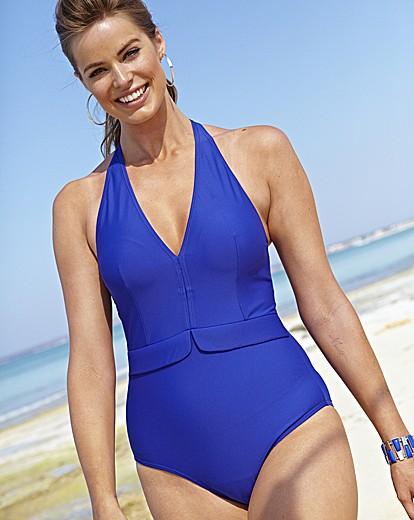 Beach to Beach Peplum Swimsuit