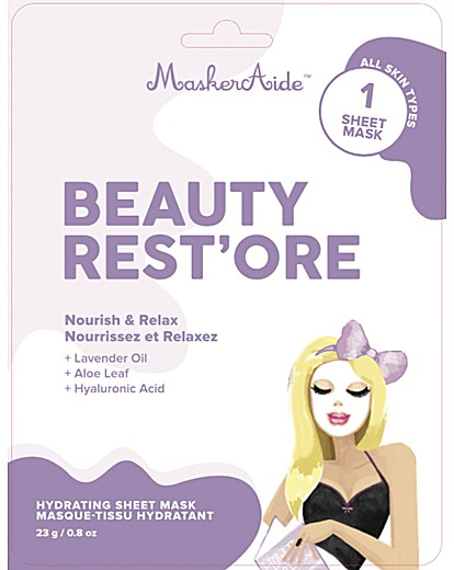 MaskerAide MaskerAide Beauty Rest'Ore Sheet Mask