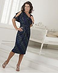 Coleen Nolan Dress With Brooch Detail