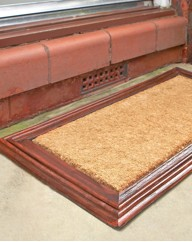Wood Effect Doormat
