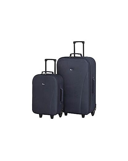 Go Explore 2 Piece Wheeled Luggage Set