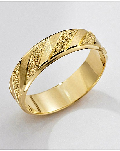 9 carat gold detailed wedding ring jacamo